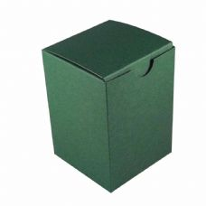 Dark Green Tall Designer Favour Boxes